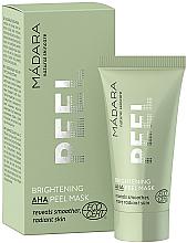 Parfumuri și produse cosmetice Mască-peeling de curățare cu acizi ANA - Madara Cosmetics Brightening AHA Peel Mask