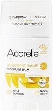 """Parfumuri și produse cosmetice Deodorant bio """"Ylang și Palmarosa"""" - Acorelle Deodorant Balm"""