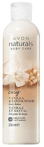 """Loțiune de corp """"Vanilie și Lemn de santal"""" - Avon — Imagine N1"""