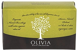 Parfumuri și produse cosmetice Săpun solid - Olivia Beauty & The Olive Tree Natural Bar Soap Extra Olive Oil