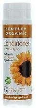 Balsam cu extract de floarea-soarelui, mușețel și unt de shea pentru păr - Bentley Organic Conditioner — Imagine N1