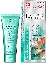 Parfumuri și produse cosmetice CC-cream - Eveline Cosmetics Therapy