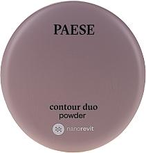 Parfumuri și produse cosmetice Pudră dublă pentru contouring - Paese Contour Duo Powder