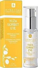 Parfumuri și produse cosmetice Ser-gel pentru pielea din jurul ochilor - Erborian Yuza Sorbet Eye