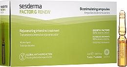 Parfumuri și produse cosmetice Fiole pentru față - SesDerma Laboratories Factor G Renew Biostimulating Ampoules