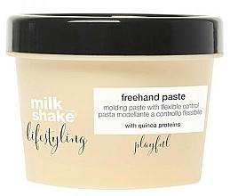 Parfumuri și produse cosmetice Pastă pentru păr - Milk Shake Lifestyling Pasta Modeladora