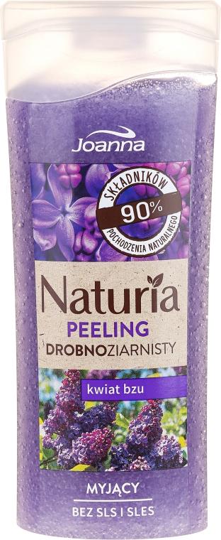"""Peeling fin pentru duș """"Flori de liliac"""" - Joanna Naturia Peeling"""