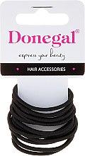 Parfumuri și produse cosmetice Elastice de păr, FA-5820, 12 bucăți - Donegal