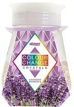 """Parfumuri și produse cosmetice Odorizant gel cu cristale """"Lavandă"""" - Airpure Colour Change Crystals Lavender Moments"""