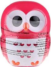 """Balsam de buze """"Bufniță"""", roșie - Martinelia Owl Lip Balm — Imagine N1"""