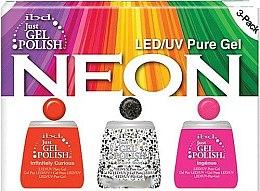 Parfumuri și produse cosmetice Set - IBD Just Gel Polish Neon Kit (gel/polish/3*14ml)