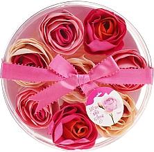 """Parfumuri și produse cosmetice Confetti pentru baie """"Trandafir"""", 8 bucăți - Spa Moments Bath Confetti Rose"""