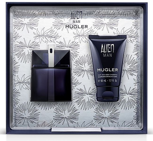 Mugler Alien Man Gift Set - Set cadou (edt/50ml+b/shm/50ml) — Imagine N1