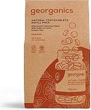 """Parfumuri și produse cosmetice Tablete pentru curățarea dinților """"Portocală"""" - Georganics Natural Toothtablets Orange (rezervă)"""