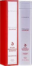 Parfumuri și produse cosmetice Șampon pentru îndepărtarea reflexiilor galbene - L'Anza Healing ColorCare Silver Brightening Shampoo