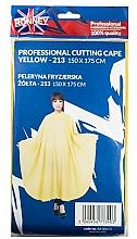Parfumuri și produse cosmetice Pelerină pentru coafor, galbenă - Ronney Professional Cutting Cape