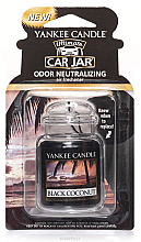 Parfumuri și produse cosmetice Aromatizator gel - Yankee Candle Car Jar Ultimate Black Coconut