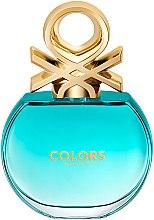 Parfumuri și produse cosmetice Benetton Colors de Benetton Blue - Apă de toaletă (tester cu capac)