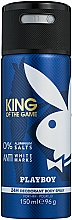 Parfumuri și produse cosmetice Playboy King Of The Game - Deodorant