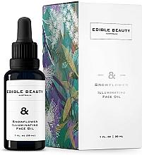 Parfumuri și produse cosmetice Ulei iluminator pentru față - Edible Beauty Snowflower Illuminating Face Oil