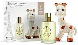 Parfumuri și produse cosmetice Parfums Sophie La Girafe - Set (water/100ml+toy)