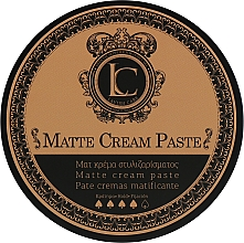 Parfumuri și produse cosmetice Pastă mată de păr pentru bărbați, fixare puternică - Lavish Care Matte Cream Paste