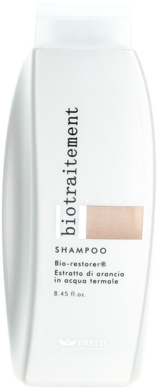 Șampon pentru regenerarea părului - Brelil Bio Traitement Reconstruction Shampoo — Imagine N1