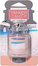 Parfumuri și produse cosmetice Aromatizator gel pentru mașină - Yankee Candle Car Jar Ultimate Pink Sands