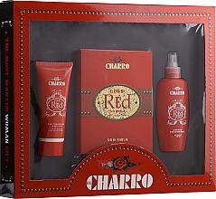 Parfumuri și produse cosmetice El Charro Red - Set (edp/100ml + b/cr/100ml + deo/100ml)