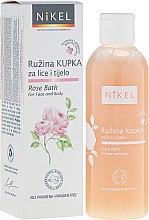 Parfumuri și produse cosmetice Spumă de curățare pentru față și corp - Nikel Rose Bath