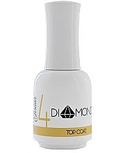 Parfumuri și produse cosmetice Top coat pentru oja semipermanentă - Elisium Diamond Liquid 4 Top Coat