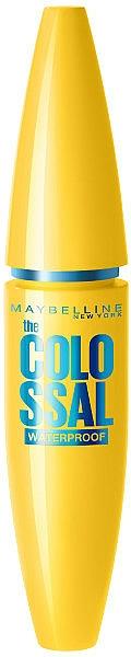 Mascara rezistentă la apă - Maybelline Colossal Waterproof 100% Black