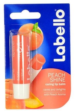 """Balsam de buze """"Piersica"""" - Labello Lip Care Peach Shine Lip Balm — Imagine N1"""