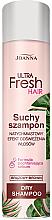 Parfumuri și produse cosmetice Șampon uscat pentru păr întunecat - Joanna Ultra Fresh Hair Brown Dry Shampoo