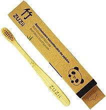 Parfumuri și produse cosmetice Periuță de dinți pentru copii, bej, moale - Zuzii Kids Soft Toothbrush