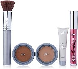Parfumuri și produse cosmetice Set - Pur Minerals Best Sellers Starter Kit Golden Medium (primer/10ml+found/4.3g+bronzer/3.4g+mascara/5g+brush)