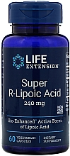 """Parfumuri și produse cosmetice Supliment alimentar """"Super R -acid lipoic """" - Life Extension Super R-Lipoic Acid"""