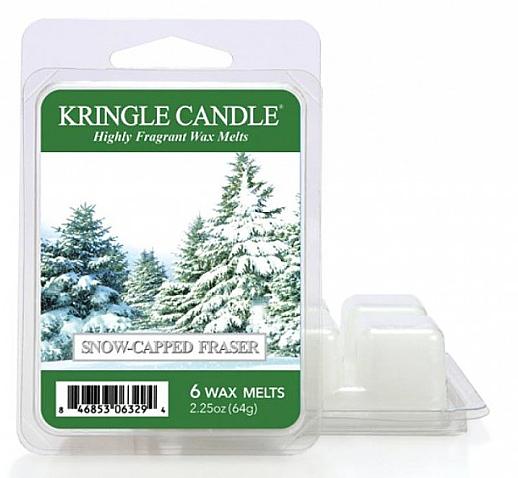 Ceară aromatică - Kringle Candle Wax Melt Snow Capped Fraser — Imagine N1