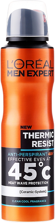 Deodorant antiperspirant pentru bărbați - L'Oreal Paris Men Expert Thermic Resist 48H — фото N1