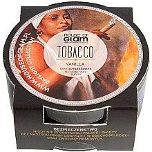 Parfumuri și produse cosmetice Lumânare aromată - House of Glam Tobacco & Vanilla Candle (mini)