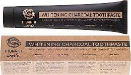 Parfumuri și produse cosmetice Pastă de dinți naturală - Mohani Smile Whitening Charcoal Toothpaste
