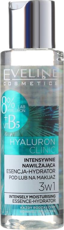 Esență pentru față, hidratantă - Eveline Cosmetics Hyaluron Clinic — Imagine N2