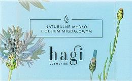 Parfumuri și produse cosmetice Săpun natural cu ulei de migdale - Hagi Soap