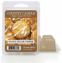 Parfumuri și produse cosmetice Ceară pentru lampă aromatică - Country Candle Maple Sugar Cookie Wax Melts