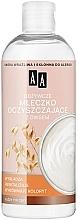 Parfumuri și produse cosmetice Lăptișor hrănitor pentru curățarea tenului - AA Skin Food