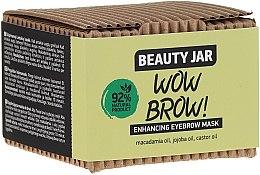 Mască pentru creșterea sprâncenelor - Beauty Jar Wow Brow! Enhancing Eyebrow Mask — Imagine N2