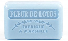 """Parfumuri și produse cosmetice Săpun de Marsilia """"Floare de Lotus"""" - Foufour Savonnette Marseillaise Fleur De Lotus"""