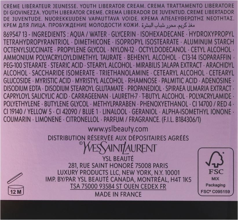 Cremă de întinerire - Yves Saint Laurent Forever Youth Liberator Creme — Imagine N3
