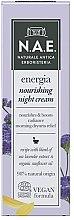 Parfumuri și produse cosmetice Cremă de noapte pentru față - N.A.E. Energia Nourishing Night Cream