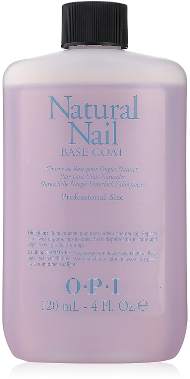 Top coat pentru unghii naturale - O.P.I Natural Nail Base Coat — Imagine N2